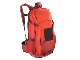 EVOC Backpack FR Trail 20L Liteshield | orange/chili-red