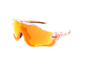OAKLEY Sonnenbrille Jawbreaker Crystal Pop Orange | Fire...