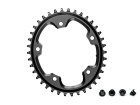 ABSOLUTE BLACK Chainring CX oval | narrow wide 1-speed...