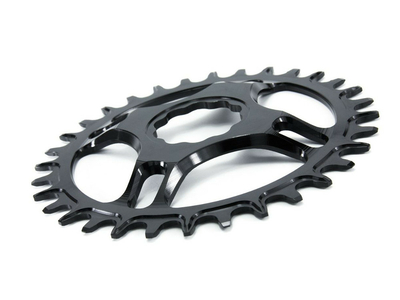 GARBARUK Chainring Melon oval Direct Mount | 1-fach narrow-wide THM Clavicula M3 MTB Crank