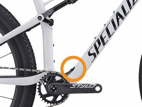 HOPP CARBON PARTS Rahmeneinsatz für Specialized Epic FSR...