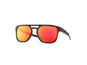 OAKLEY Sonnenbrille Latch Beta Polished Black | Prizm...