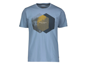 SCOTT T-Shirt Tee 10 Casual | washed blue