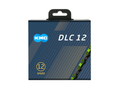 KMC Chain 12-speed DLC12 126 Links | black | green