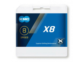 KMC Chain 8-speed X8 114 Links | silver