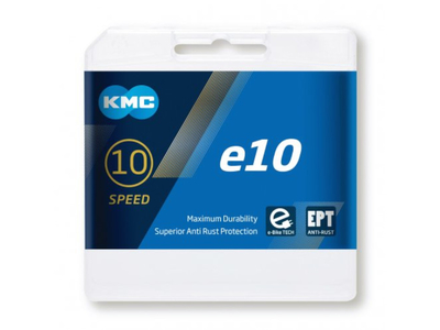 KMC Chain 10-speed e10 EPT 136 Links for E-Bike | silver
