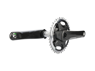 SRAM RED 1 DUB AXS Quarq Powermeter Kurbel Carbon Road...