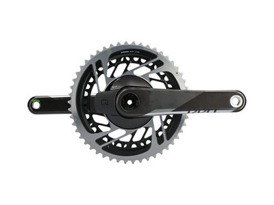 SRAM RED DUB AXS Quarq Powermeter Kurbel Carbon Road 2-fach