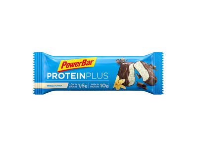 POWERBAR Recovery Riegel Protein Plus Low Sugar Vanille |...