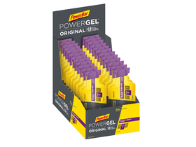 POWERBAR Energiegel Powergel Original Black Currant | 24...