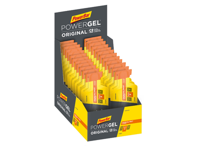 POWERBAR Energiegel Powergel Original Tropical Fruit | 24...