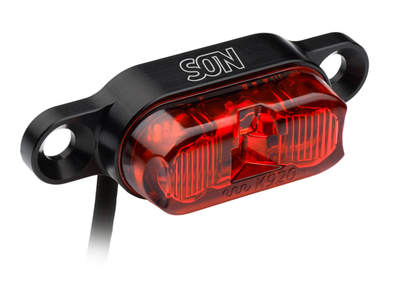 SON E-Bike Rear Light DC 6-12 V for Carriers | StVZO