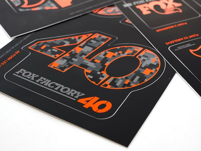 FOX Sticker 2019 Decal Set AM Heritage for Fork and Shock | Digi Cam