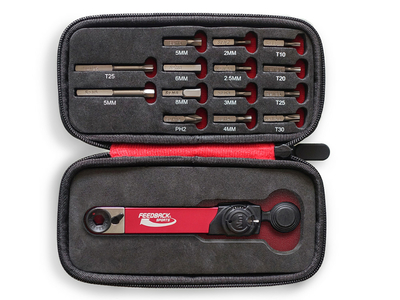 FEEDBACK SPORTS Range Torque wrench with bit set