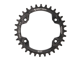 WOLFTOOTH Chainring 1-speed BCD 96 for Shimano XTR...