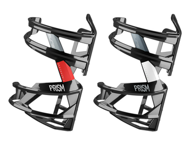 ELITE Bottle Cage Prism black glossy | left