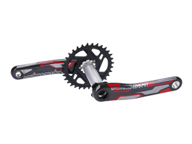 TRUVATIV Crankset Descendant Carbon TLD -Troy Lee...