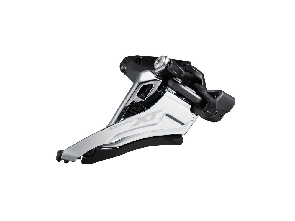 2x12 Front Side-Swing SHIMANO XT FD-M8100 Front Derailleur High-Direct Mount Black