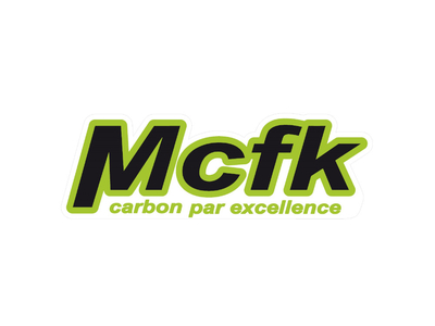 MCFK Decals for Handlebar green