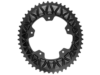 ABSOLUTE BLACK Chainring Premium Sub Compact oval 2-speed...