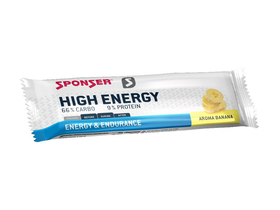 SPONSER Energybar High Energy Bar Banana | 45g Bar