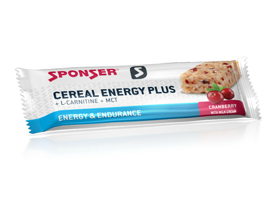 SPONSER Energybar Cereal Energy Plus Bar Cranberry | 15...