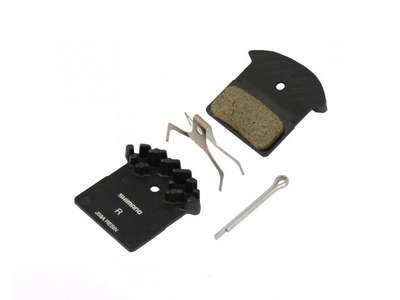 SHIMANO Brake Pads Ice Tech J03A Resin with cooling fins