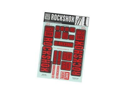 ROCK SHOX Sticker Decal Set for Boxxer | Domain Lower Leg...