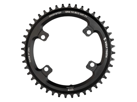 WOLFTOOTH Chainring 1-Speed Drop-Stop BCD 110 for Shimano...