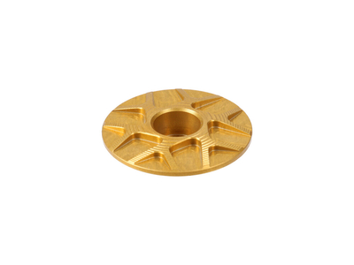GARBARUK Aheadkappe Stem Cap gold