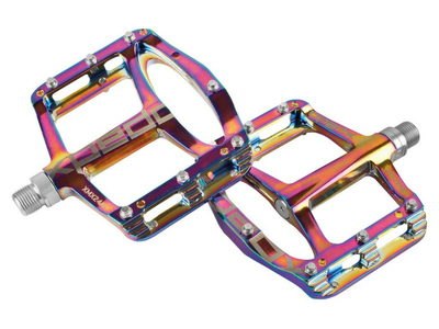 XPEDO flat pedals SPRY | oil slick