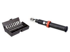 SYNTACE Torque Tool 1-25 and Bit set 2-8 mm TX25