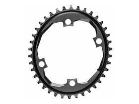 ABSOLUTE BLACK Chainring oval 1-speed SRAM APEX Crank...