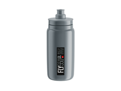 ELITE Water Bottle Fly 2020 | 550 ml grey-black