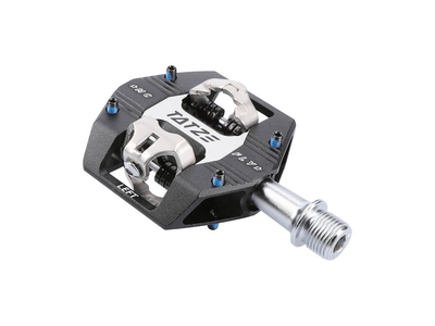 TATZE BIKE COMPONENTS Pedal MC-FLY Cr-Mo | black/silver