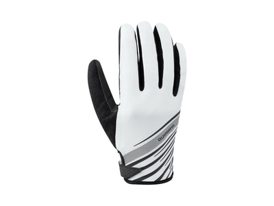 SHIMANO Handschuhe Long Gloves Reflect | white