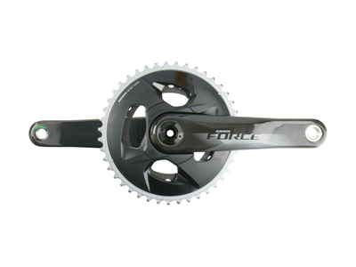 SRAM Force Wide Kurbel Carbon Road 2-fach Gloss 170,0 mm
