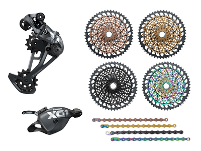 SRAM X01 Eagle Upgrade Kit 1x12 | 52 Zähne rainbow