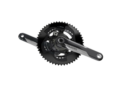 SRAM Kurbel | Quarq Power Meter DZero 2x11 DUB 52/36 Zähne 172,5 mm