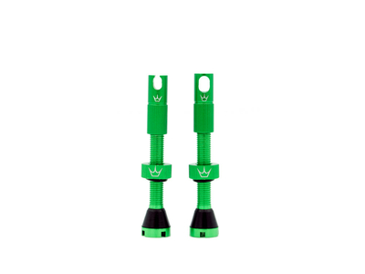 PEATY´S x Chris King Tubeless Ventil Set (MK2) matte emerald