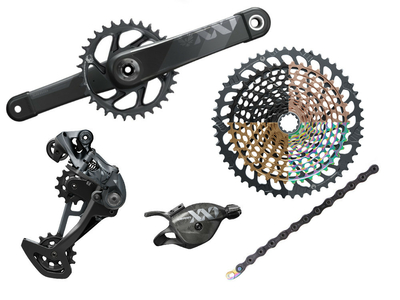 SRAM XX1 Eagle DUB MTB Gruppe 1x12 | 52 Zähne copper (Kupfer) 175 mm SRAM DUB | BSA 68 mm | 73 mm
