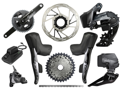 SRAM Force eTap AXS Wide Road Disc HRD Flat Mount Rennrad...
