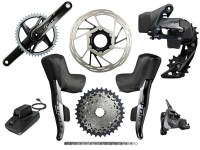 SRAM Force eTap AXS Road Disc HRD Flat Mount Rennrad...