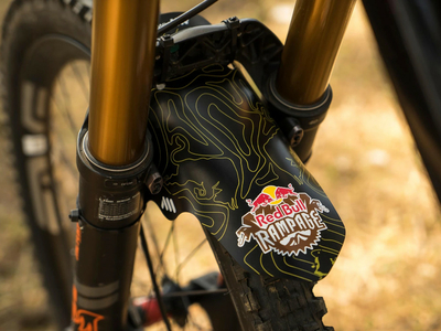 ALL MOUNTAIN STYLE Schutzblech Mud Guard | Red Bull...