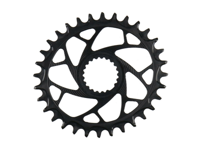 ALUGEAR Chainring oval ELM Direct Mount | 1-speed narrow-wide Shimano MTB
