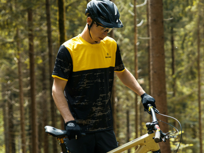 MAGURA Short Sleve Jersey YellowCamo Freeride
