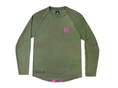 MUC-OFF Long Sleeve Riders Jersey | green