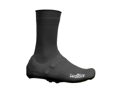 VELOTOZE Shoe Covers tall ROAD Silicone Snap | black