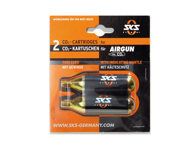 SKS Kartuschen Set Airgun CO2 2 Stk.