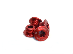 CARBON TI Chainring Bolts X-Fix XX1 for SRAM XX1 red